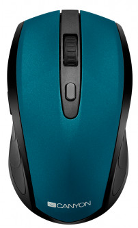 Мышь Canyon CNS-CMSW08G Wireless Black/Green