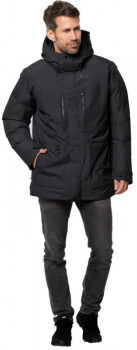 Пуховик Jack Wolfskin North Ice Parka 1111681-6000 Чорний