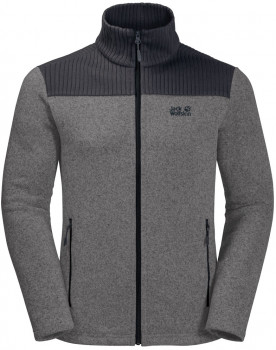 Толстовка Jack Wolfskin Scandic Jacket Men 1707111-6011 Сіра
