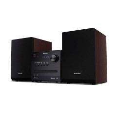 SHARP Micro Sound System Brown (XL-B510(BR))