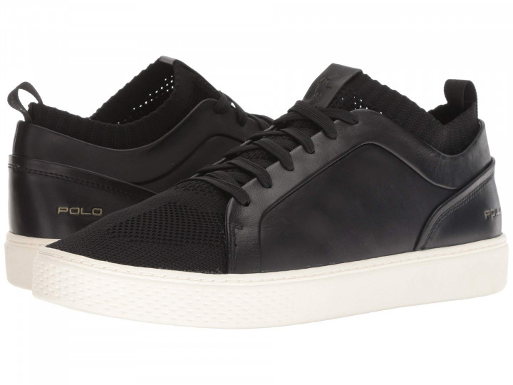Кеды Polo Ralph Lauren Court 150 Black, 46 (315 мм) (10112509) - изображение 1