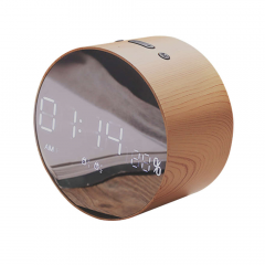 Aкустическая система с Bluetooth JoyRoom JM-R8 Alarm Clock Wood (25059)