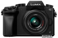 Panasonic Lumix DMC-G7 Kit 14-42mm Black (DMC-G7KEE-K) Официальная гарантия