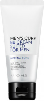 ВВ крем для мужской кожи Missha Men's Cure BB Cream Suited For Men Normal Tone 50 мл (8809581460256)