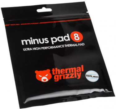Термопрокладка Thermal Grizzly Minus Pad 8 - 30x30x1.5 мм (TG-MP8-30-30-15-1R)