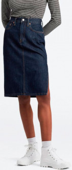 Джинсовая юбка Levi's Slide Slit Skirt Juniper Ridge 28 (52363-0002)