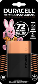 УМБ Duracell 10050 mAh Black/Copper (5000394026223)