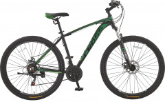"Велосипед CrossBike Leader 19.5"" 29"" 2019 Black/Dark-Green/Green (29CJPr19-63)"