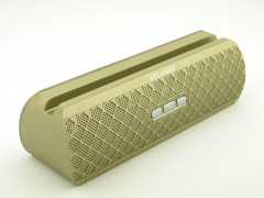 Портативная bluetooth колонка саундбар Atlanfa AT-7735 10W speaker AUX bluetooth MP3 microSD TF + USB Gold