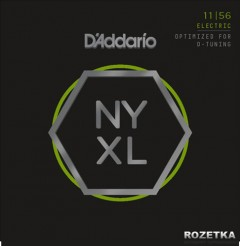 D'Addario NYXL1156 NYXL Medium Top / Extra-Heavy Bottom (11-56)