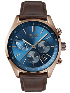 Часы Hugo Boss 1513604 Grand Prix Chronograph 44mm 3ATM