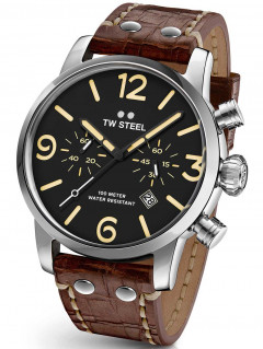 Часы TW-Steel MS3 Maverick Chronograph 45mm 10ATM
