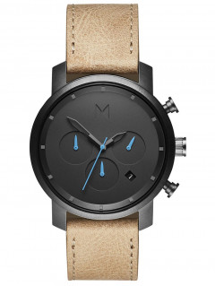 Часы MVMT MC02-GML Chrono Gunmetal Sandstone 40mm 10ATM