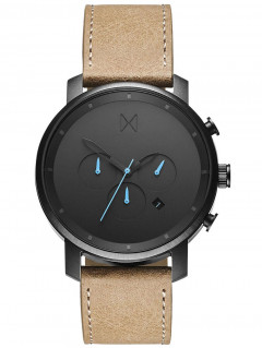 Часы MVMT MC01-GML Chrono Gunmetal Sandstone 45mm 10ATM