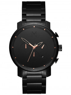 Часы MVMT MC01-BBRG Chrono Black Rose 45mm 10ATM
