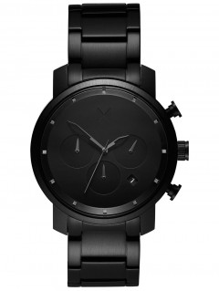 Часы MVMT MC02-BB Chrono Black Link 40mm 10ATM