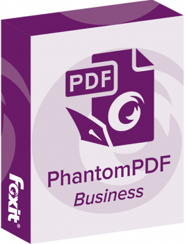 Офисное приложение Foxit PhantomPDF Business (1ПК), v9.x Commercial, подписка на 1 год (PHABSUTDECGAALLYS-1-4)