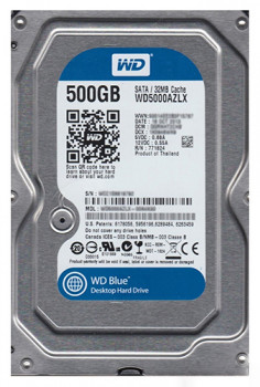 Жорсткий диск Western Digital Blue 500GB 7200rpm 32MB WD5000AZLX 3.5 SATAIII