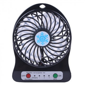 Мини-вентилятор Memos Portable Mini Fan Black (mn-61)