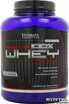 Протеин Ultimate Nutrition Prostar Whey Protein 2.39 кг Banana (099071001436)