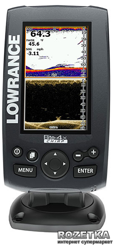 Эхолот lowrance elite-4x chirp инструкция.