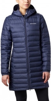 Пуховик Columbia Lake 22 Down Long Hooded Jacket 1859671-466 XS (0192660209883)