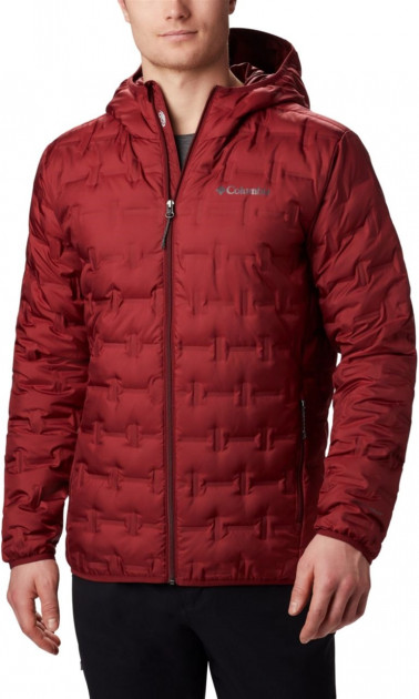Пуховик Columbia Delta Ridge Down Hooded Jacket 1875892-664 M (0192290891090) - изображение 1