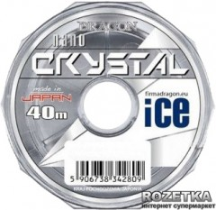 Леска Dragon Crystal Nano Ice 40 м 0.18 мм 4.5 кг (PDF-32-42-018)