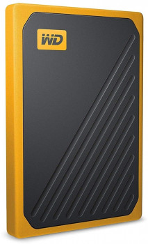 "Western Digital My Passport Go 500GB 2.5"" USB 3.0 Yellow (WDBMCG5000AYT-WESN) External"