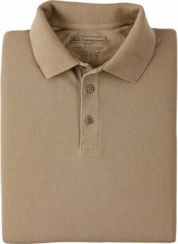 Поло тактичне 5.11 Tactical Tactical Utility Short Sleeve Polo Silver Tan
