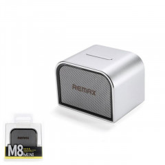 Bluetooth колонка Remax RB-M8 Mini Silver (6954851256595)