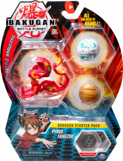 Игровой набор Spin Master Bakugan Battle planet Бакуган Пайрус Фангзор (SM64424-5) (778988550441)