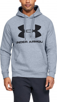 Худи Under Armour RIVAL FLEECE LOGO HOODIE 1345628-035 S (192810759312)
