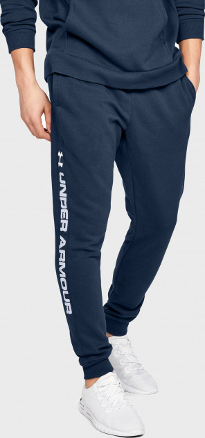 Спортивные брюки Under Armour RIVAL FLEECE LOGO JOGGER 1345634-408 S (192810771918)