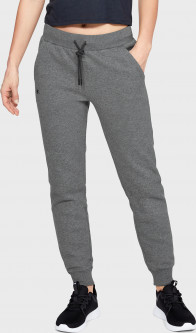 Спортивные брюки Under Armour RIVAL FLEECE SOLID PANT 1348570-010 M (192810692374)