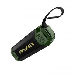 Акустика Awei Bluetooth Y280 Black-Green (11253)