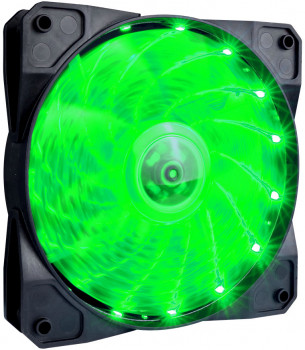 Кулер 1STPLAYER A1-15LED Green