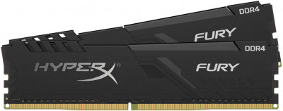 Оперативна пам'ять HyperX DDR4-3200 16384MB PC4-25600 (Kit of 2x8192) Fury Black (HX432C16FB3K2/16)