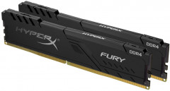 Оперативная память HyperX DDR4-3200 32768MB PC4-25600 (Kit of 2x16384) Fury Black (HX432C16FB3K2/32)
