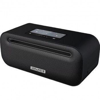 Портативная Bluetooth колонка Awei Y600 (3.5 мм,Bluetooth,USB,AUX) 2600 mAh Black