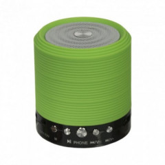 Портативная Bluetooth колонка ФМ, MP3, USB WSTER WS-631 Зелёная (46087)