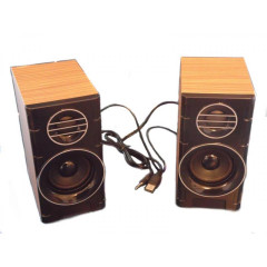 Колонки для ПК компьютера GBX F&T SW-2031 Brown (005133)