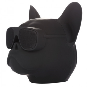 Портативная Bluetooth колонка RIAS Aerobull Dog Head Big Black (2_006834)
