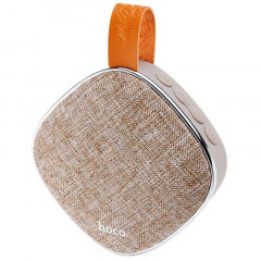 Колонка Bluetooth Speaker Hoco BS9 Brown(MB-60537)