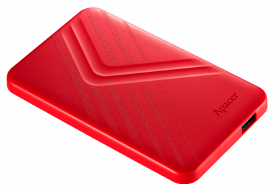 "Жорсткий диск Apacer AC236 1TB 5400rpm 8MB AP1TBAC236R-1 2.5"" USB 3.1 External Red"