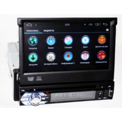 Автомагнитола Pioneer 9501 GPS/WiFi/ 4Ядра /Android/Bluetooth/FM/USB Black