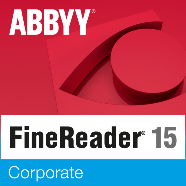 ABBYY FineReader 15 Corporate (ESD - электронная лицензия)