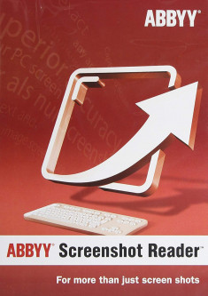 ABBYY Screenshot Reader (ESD - электронная лицензия)