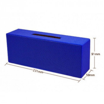 Портативная bluetooth колонка Atlanfa AT-7708 Blue