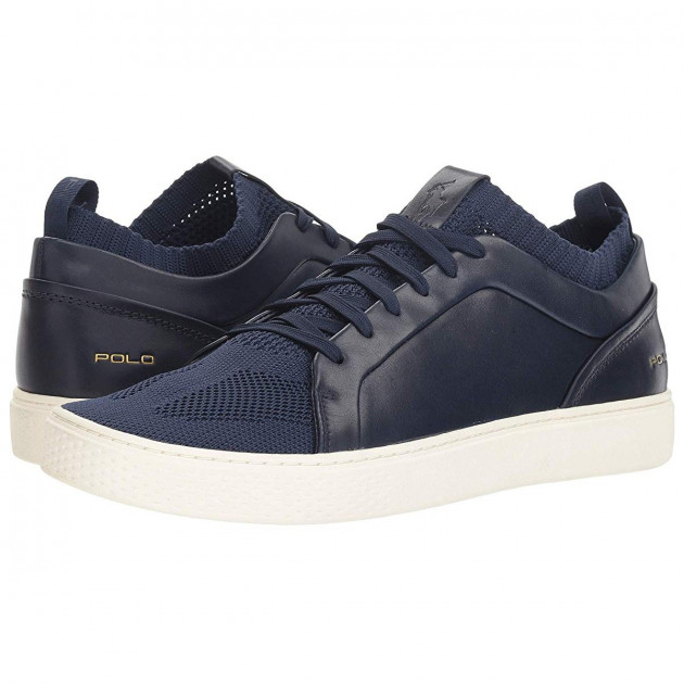 Кеды Polo Ralph Lauren Court 150 Navy, 46 (315 мм) (10130046) - изображение 1